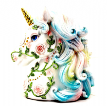 Unicorn Rose Money Box